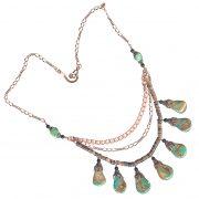 green tq tab copper penshell neck